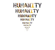 humanity Photographic Print
