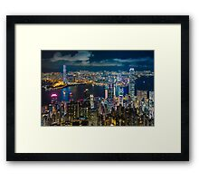 HONG KONG 10 Framed Print