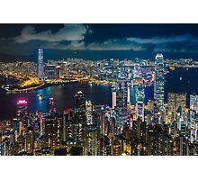 HONG KONG 10 Photographic Print
