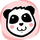 Pretty Blush Panda by pda1986