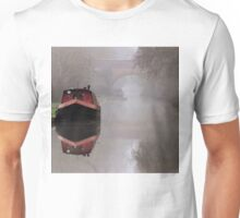 Mystical Barge on the Canal Unisex T-Shirt