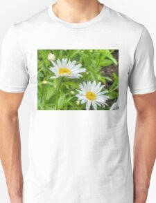 Daisy in the Garden Unisex T-Shirt