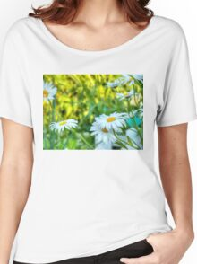 Daisy in the Garden 2 Women's Relaxed Fit T-Shirt