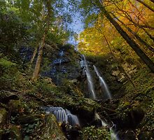 Lee Falls on an Autumn Morning by James Hoffman