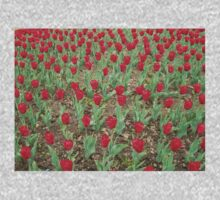Lots of Red Tulips Kids Clothes