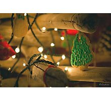 Christmas wishes Photographic Print