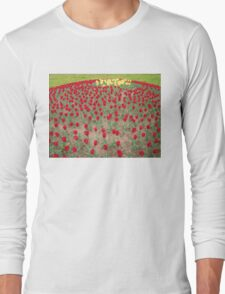 Lots of Red Tulips 4 Long Sleeve T-Shirt