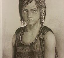 The last of us: Ellie by mariafumada