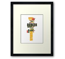 The Killers - Are we Human? Framed Print