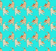 Cute dogs heelers pattern by jazzydevil