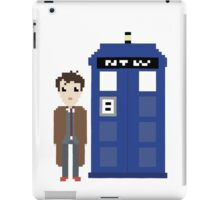 10th doctor and tardis iPad Case/Skin