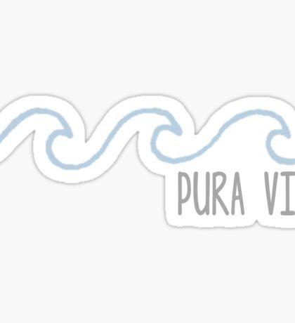 Pura Vida Wave Sticker