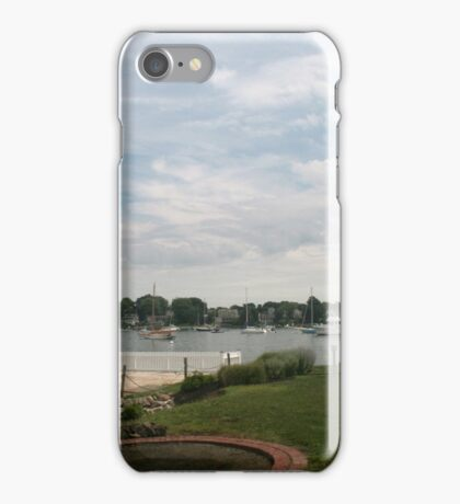 Lighthouse in Newport RI iPhone Case/Skin