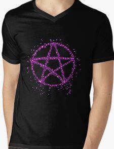 Pentacle Mens V-Neck T-Shirt