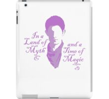 Merlin Myth - purple pale iPad Case/Skin