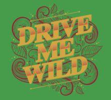 DRIVE ME WILD Kids Tee