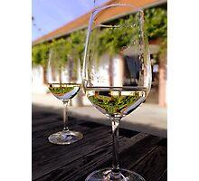 Wine time Photographic Print
