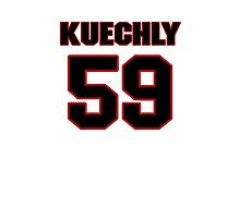 NFL Player Luke Kuechly fiftynine 59 Photographic Print