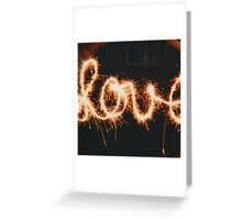 Sparkling Love  Greeting Card