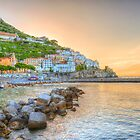 First light at Amalfi by Susan Dost