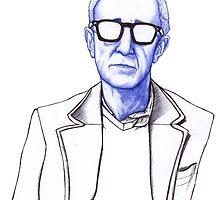Woody Allen by Antonio Méndez Díaz
