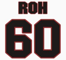 NFL Player Craig Roh sixty 60 T-Shirt