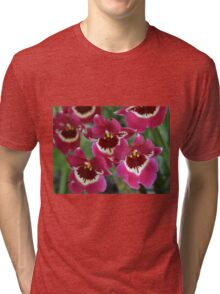 Red Orchids Tri-blend T-Shirt