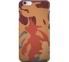Pokemon - Charmander - Charmeleon - Charizard - Absol - Flygon - Red - Blue iPhone Case/Skin