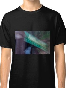 Zooming on a John Deere Tractor Classic T-Shirt