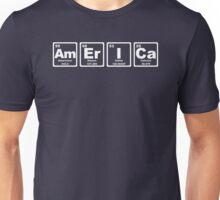 America - Periodic Table Unisex T-Shirt