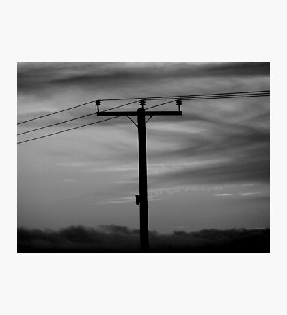 Live Wire Photographic Print