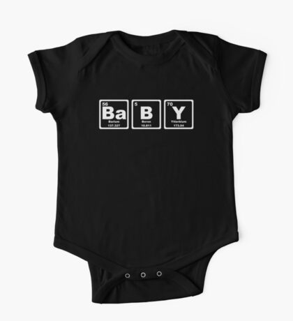 Baby - Periodic Table One Piece - Short Sleeve
