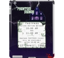 Phantom Manor- Fastpass iPad Case/Skin