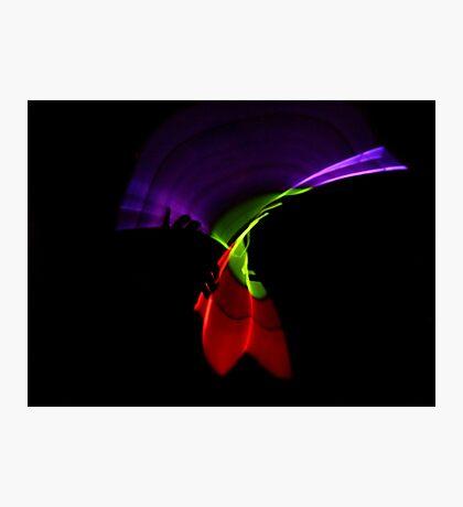 Twisted Light Photographic Print