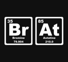 Brat - Periodic Table Kids Clothes