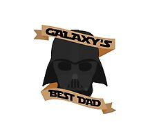 Galaxy's Best Dad by ChristinaHaugen