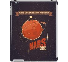 Mars colonization project iPad Case/Skin