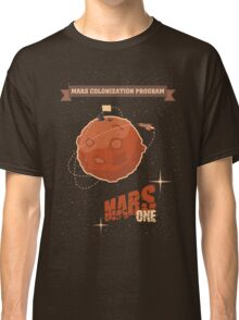 Mars colonization project Classic T-Shirt