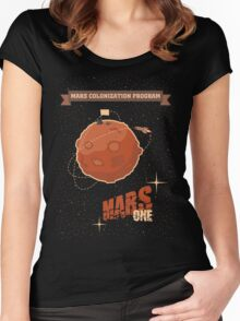 Mars colonization project Women's Fitted Scoop T-Shirt