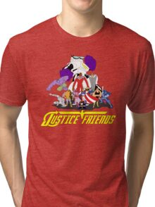 JUSTICE FRIENDS Tri-blend T-Shirt