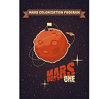 Mars colonization project Photographic Print