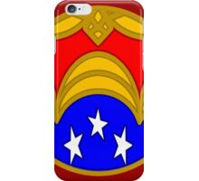 Amazon Princess - Minimal Comic Book Superhero Logo iPhone Case/Skin
