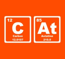 Cat - Periodic Table Kids Clothes