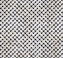 Grunge Abstract Maze Pattern by sale