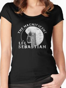 Lil Sebastian Women's Fitted Scoop T-Shirt
