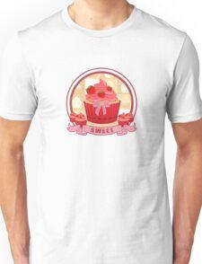 Sweet Strawberry Cupcake Unisex T-Shirt