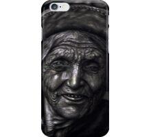 nepali old woman iPhone Case/Skin