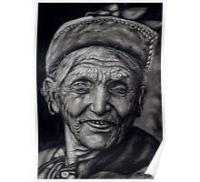 nepali old woman Poster