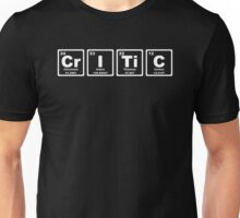 Critic - Periodic Table Unisex T-Shirt
