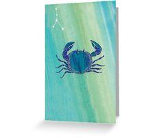 Cancer Sign - Emotional Flow Greeting Card